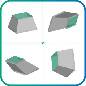 Переход прямоугольник-прямоугольник